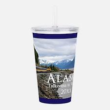 Alaska Train Talkeetna Acrylic Double-wall Tumbler
