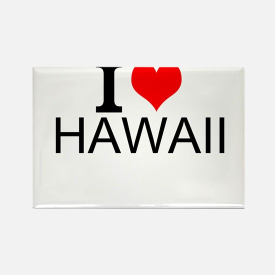 I Love Hawaii Magnets