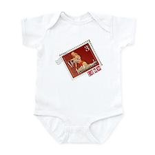 Merry Kitschmas Stamp Infant Bodysuit