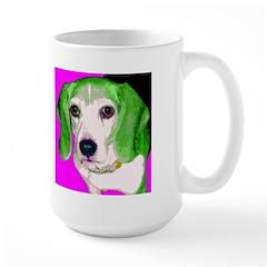 Pop Beagle Large Mug
