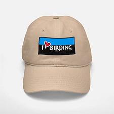 """""""I Love Birding"""" BIRDER CAP"""