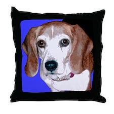 Pop Beagle Throw Pillow