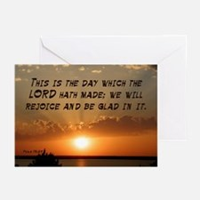 Psalm 118:24 Greeting Cards (Pk of 20)