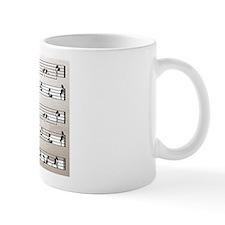 Kama Sutra Music Notes Small Mug
