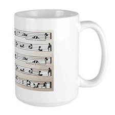 Kama Sutra Music Notes Mug