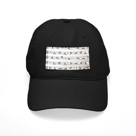 Kama Sutra Music Notes Black Cap