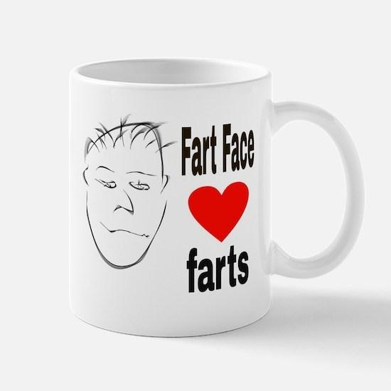 Fart Face Mugs