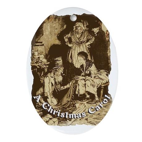Three Thieves Oval Ornament