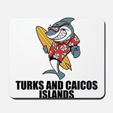 Turks And Caicos Islands Mousepad