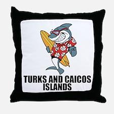 Turks And Caicos Islands Throw Pillow