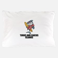 Turks And Caicos Islands Pillow Case