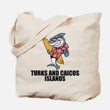 Turks And Caicos Islands Tote Bag