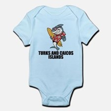 Turks And Caicos Islands Body Suit