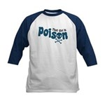 That Girl is Poison Kids Baseball Jersey