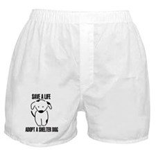 Adopt A Dog Boxer Shorts