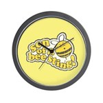 Son of a Bee Sting! Wall Clock