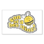 Son of a Bee Sting! Rectangle Sticker