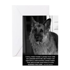 Dog loss, Dog Grief Card