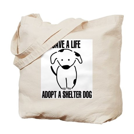 Adopt A Dog Tote Bag