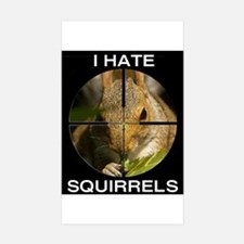 Squirrel/Scope Rectangle Decal