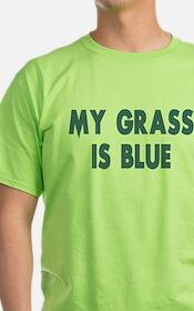Street Survivors My Grass Is Blue T-Shirt