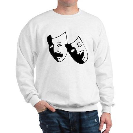 Drama Masks Sweatshirt