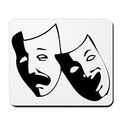 Drama Masks Mousepad