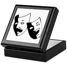 Drama Masks Keepsake Box