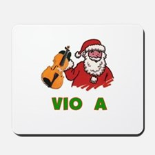 Santa Noel Viola Mousepad