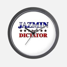 JAZMIN for dictator Wall Clock