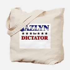 JAZLYN for dictator Tote Bag