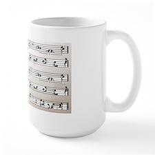 Kama Sutra Music Notes Coffee Mug