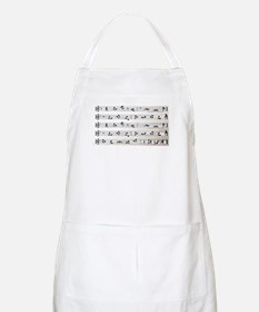 Kama Sutra Music Notes BBQ Apron