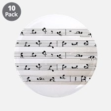 "Kama Sutra Music Notes 3.5"" Button (10 pack)"
