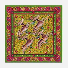 Celtic Reindeer Tile Coaster