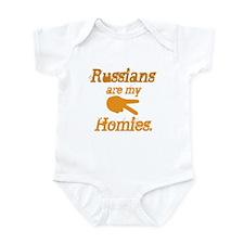 Cute Russian Infant Bodysuit