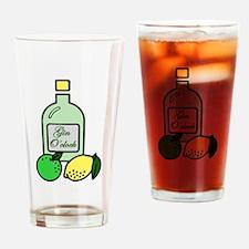Gin O'clock Drinking Glass