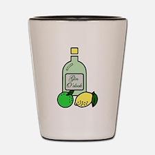Gin O'clock Shot Glass