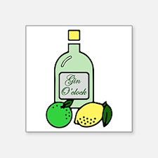 Gin O'clock Sticker