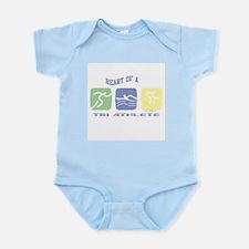 HEART OF A TRI ATHLETE Infant Bodysuit