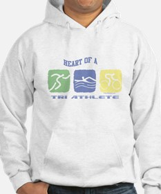 HEART OF A TRI ATHLETE Hoodie