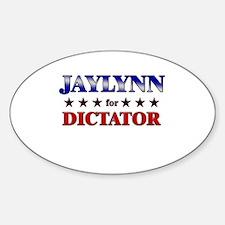 JAYLYNN for dictator Oval Decal