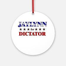 JAYLYNN for dictator Ornament (Round)