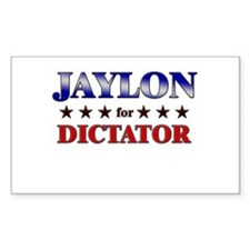 JAYLON for dictator Rectangle Decal