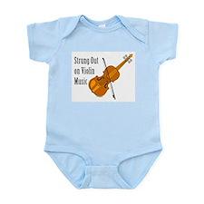 Violin Music Infant Bodysuit