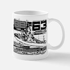 Battleship Missouri Mugs