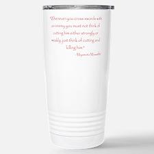 Cool Samurai Travel Mug