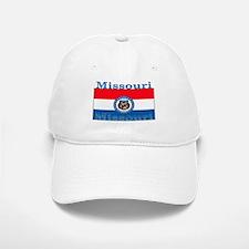 Missouri State Flag Baseball Baseball Cap