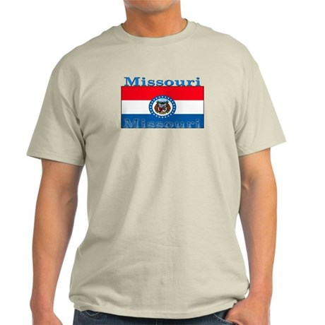 Missouri State Flag Light T-Shirt