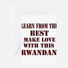 Learn best from this Rwandan Greeting Card